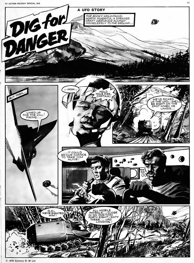 Dig For Danger Page 1