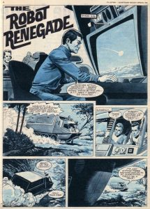 Robot Renegade Page 1