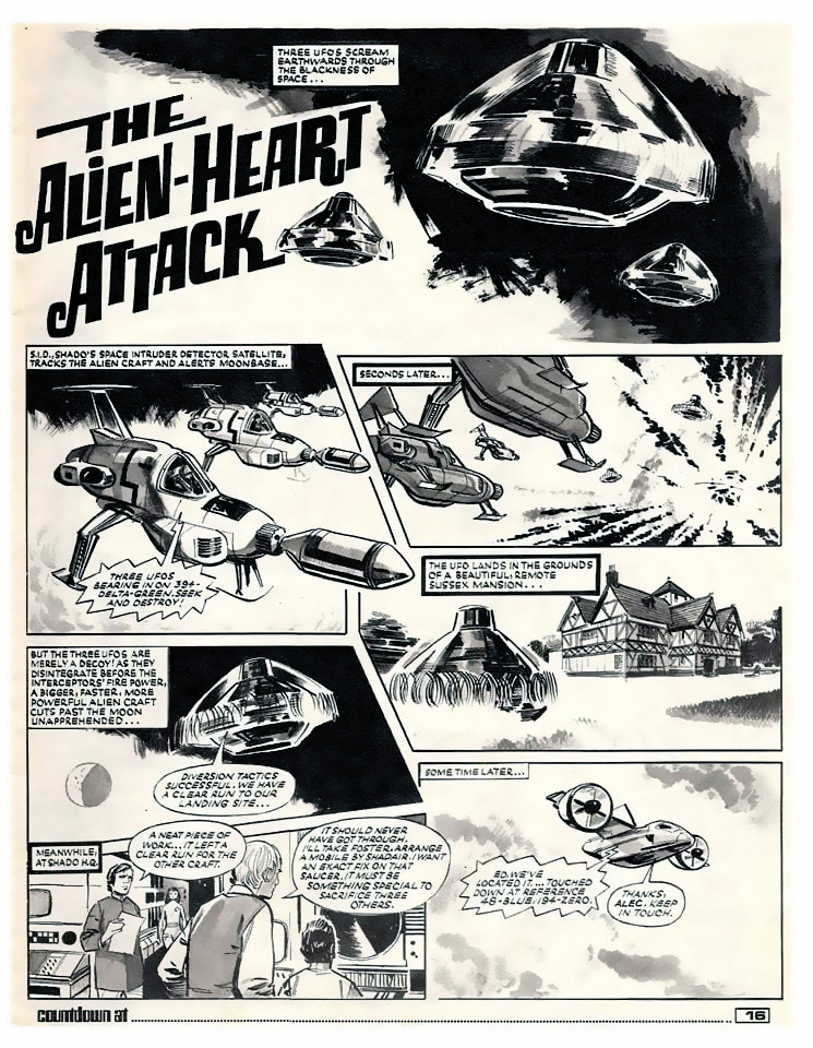 The Alien Heart Attack Page 1