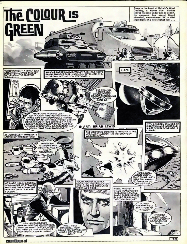 The Colour Is Green Page 1