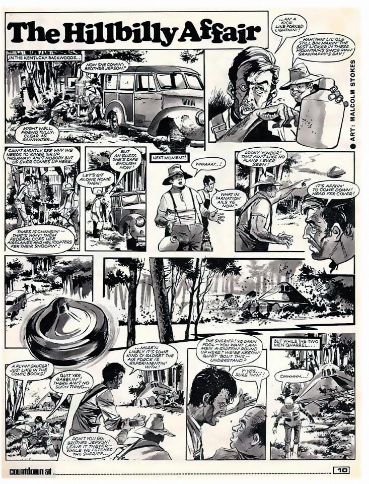 The Hillbilly Affair Page 1